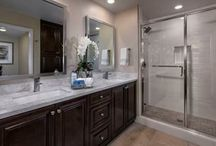 Lennar SoCal Luxury Master Baths / These beautiful master bathrooms are found at Lennar Communities in San Diego, Los Angeles and Orange County.