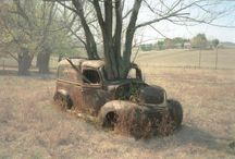 Left to Rust / reclaimed by nature / by Anna Kimm-Wilson