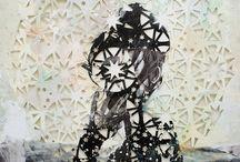 collage, mixed media, photocollage / by Татьяна Байкова