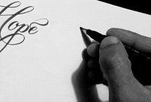 calligraphy, handlettering ++