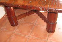 Stunning railway sleeper table for sale, Joburg, SA