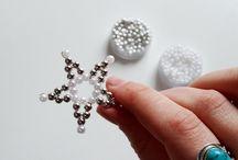 Sterne aus Perlen