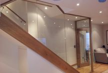 Balustrade / Glass - a modern piece of indoor and outdoor design.