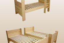 Gyerekszoba - ágyak, szekrények