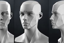 3D Head Reference