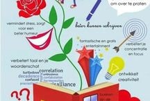 School en leren: lezen en schrijven