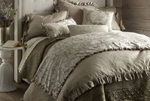 French Laundry Home 2014 / Vintage yet comfortable. Debbie's sophisticated style and passion for vintage feedsack fabric comes together to make this collection.