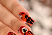 haloween nails