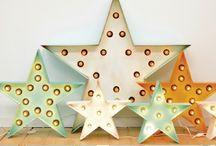 Rótulos luminosos para decorar