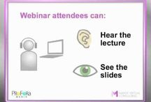 Webinars / Tools and events. All about web seminars (online seminars).