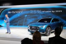 LA Auto Show 2015 Electric Cars