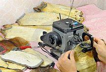 мех шить