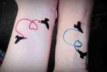 tatoo à deux