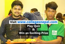 Colleges Nepal Quiz / Play and WIN Contest. Play Quiz at www.collegesnepal.com and win an exciting Prize