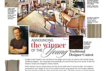 "Awards / Paul Corrie was selected as Traditional Home's ""Young Designer of the Year in 2010"