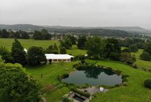 Drone Photos / Drone photography of our marquees, weddings and events