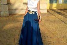 faldas y vestidos de moda