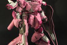 pinky gunpla/mecha