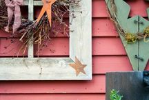 Rustic signs n decorations / by Irene Mary