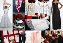 wedding colour boards