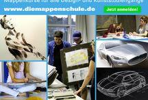 Mappenkurs / Mappenvorbereitung für alle Kunst- und Designstudiengänge