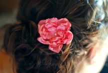 Projects - Hair Flowers / by Cathy Winn