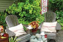 Beautiful gardens & pools & patios