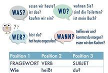 alemão w-fragen