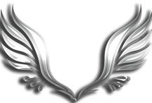 decoupage angles, cherubs, fairies