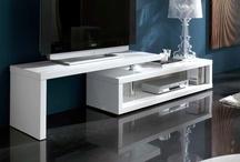 Muebles de salon modernos / Muebles de estilo moderno para el salón.