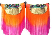 Fringed bumbags // fanny pack / These bags are a lot of fun!   Luxury, durable fringed bumbags, completely unique and only available at 'Beksies Boutique'.