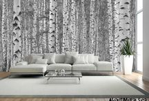 Forest Wallpaper / Forest wall murals can make a room feel breezy, romantic or serene.