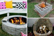 ideas patio en cemento