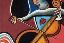 picasso houslistka