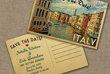 Wedding - save the date cards