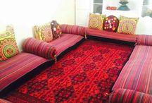 Afghan decoration
