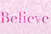 One Word for 2017 - Believe
