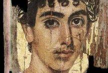fayum and roman mummy portraits