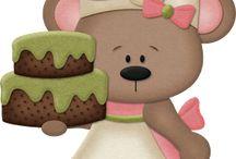 Moldes Ursos