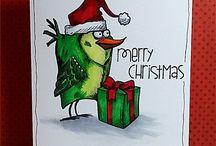 Crazy birds Christmas