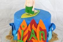 Hawaiian Themed b-day cake ideas