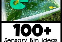 Preschool: Sensory Bins