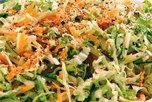 Saladas maravilhosas.