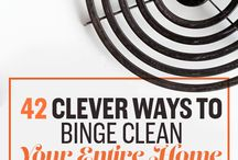 42 WAYS TO MAKE YOUR ENTIRE HOME CLEANER THAN IT'S EVER BEEN!!