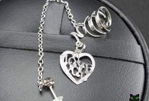 Bijuterias - Pitucat Acessórios / Bijuterias da Pitucat Acessórios: anel, colar, brinco, ear cuff, pulseira, presilha, tornozeleira. https://www.pitucat.com.br/bijuterias/