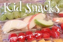 Healthy Snacks for Kids and Adults / Healthy snack ideas