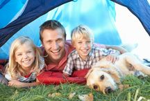 Camping with the Dog / With six and a half million dog owners in Britain, camping with the dog is now favoured by a quarter of campers.With exciting new sight, sounds and smells for your pet and no costly kennel bills for you, this is a great way of spending time together with the whole family.