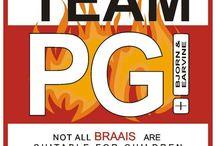 Team PG die Baie Braai Party