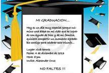 invitacion graduacion