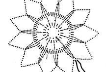 Snowflakes - Crochet